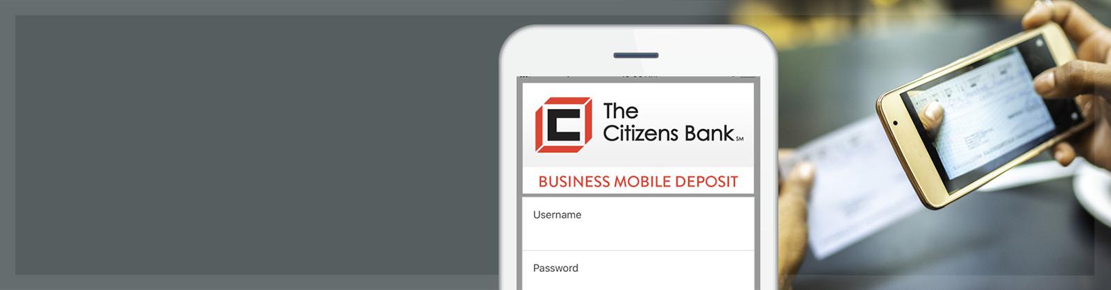 Citizens Bank Mobile Deposit App