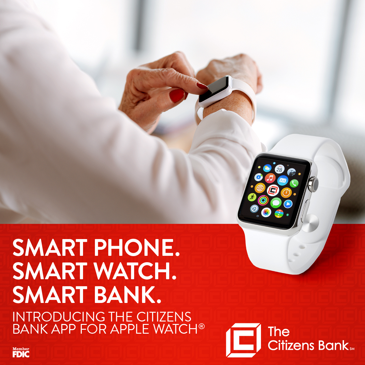 The Citizens Bank App for Apple Watch